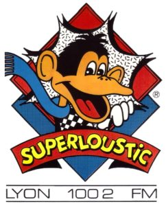 Logo Superloustic Lyon 100.2 FM