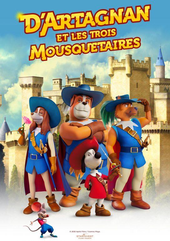L'affiche du film « D'Artagnan et les trois mousquetaires »