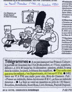 Le Nouvel Observateur - 13 décembre 1990