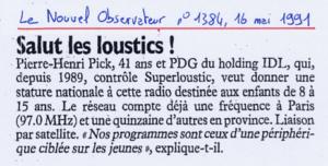 Le Nouvel Observateur - 16 mai 1991