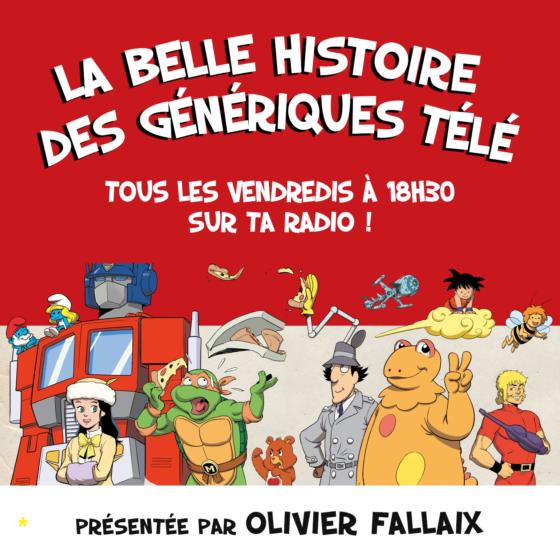 La Belle histoire des génériques télé avec Olivier